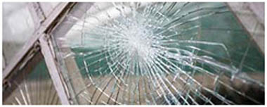 Dronfield Smashed Glass